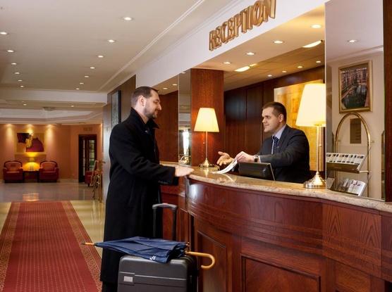 Chateau Monty SPA Resort Recepce