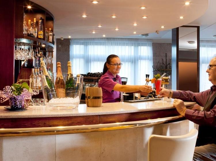 Chateau Monty SPA Resort Lobby Bar 2