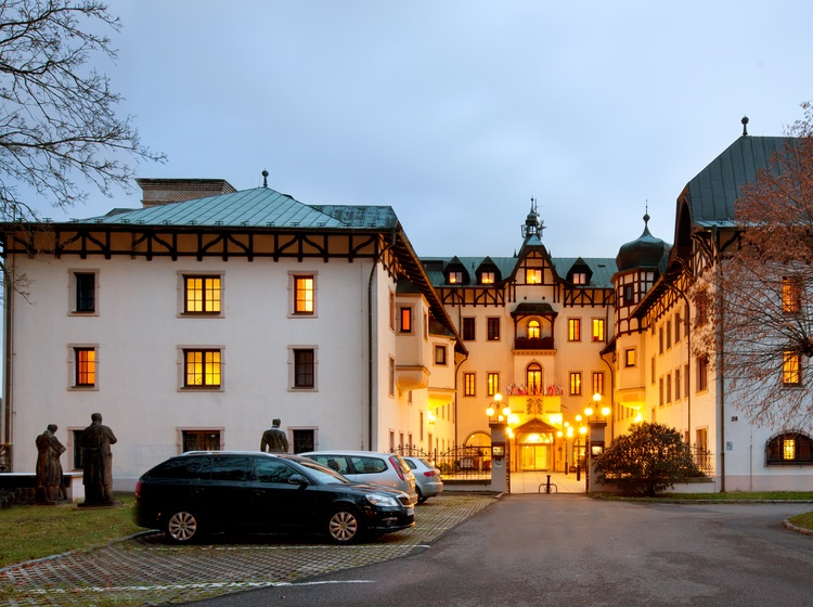 Jako na zámku-Chateau Monty SPA Resort 2