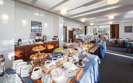 HOTEL PORT Hotelová snídaně