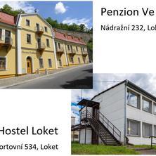 Penzion Ve Skále, Hostel Loket