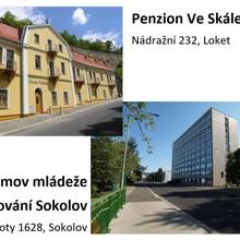 Penzion Ve Skále Loket + Ubytování Sokolov Loket