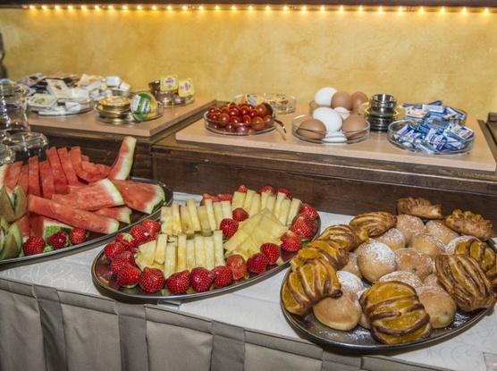 Hotel Černý slon Snídaně