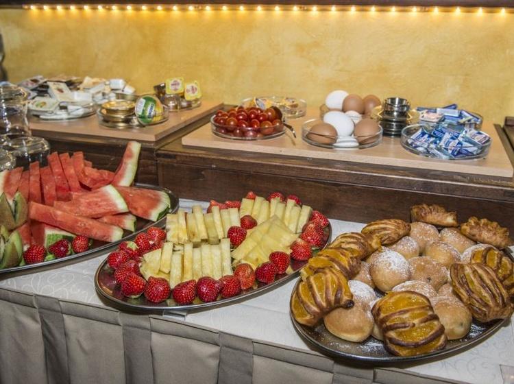 Hotel Černý slon Snídaně 2