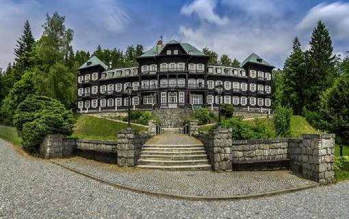 Lázeňský oddech pro dva-Lázeňský hotel Slezský dům 1154003611