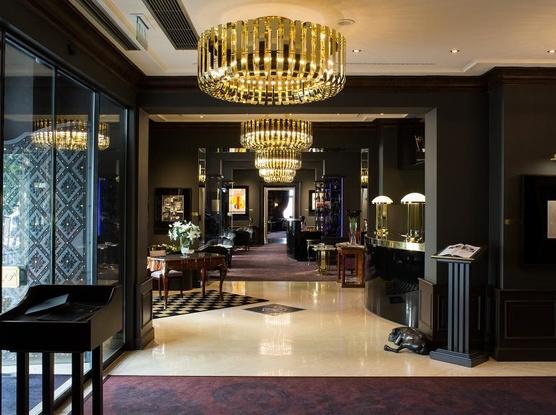 Le Palais Art Hotel Praha Recepce/vstup do hotelu