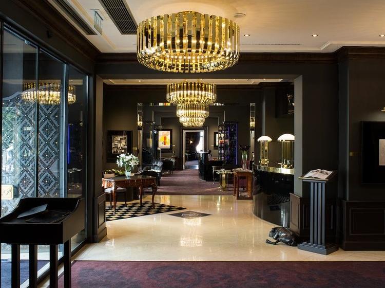 Le Palais Art Hotel Praha Recepce/vstup do hotelu 2