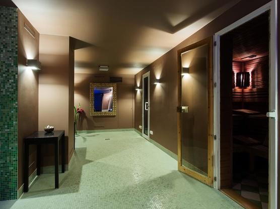 Le Palais Art Hotel Praha Pára, sauna a aroma sprchy