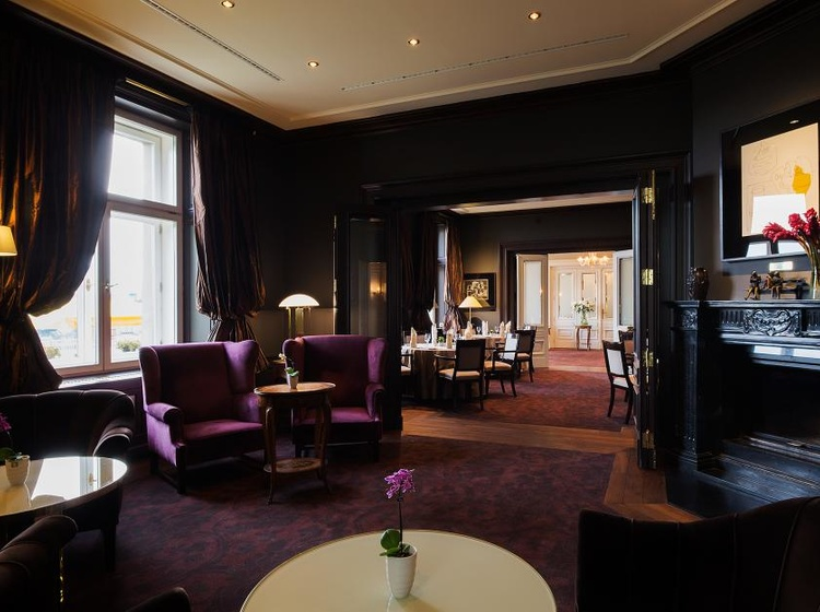 Le Palais Art Hotel Praha Knihovna 2