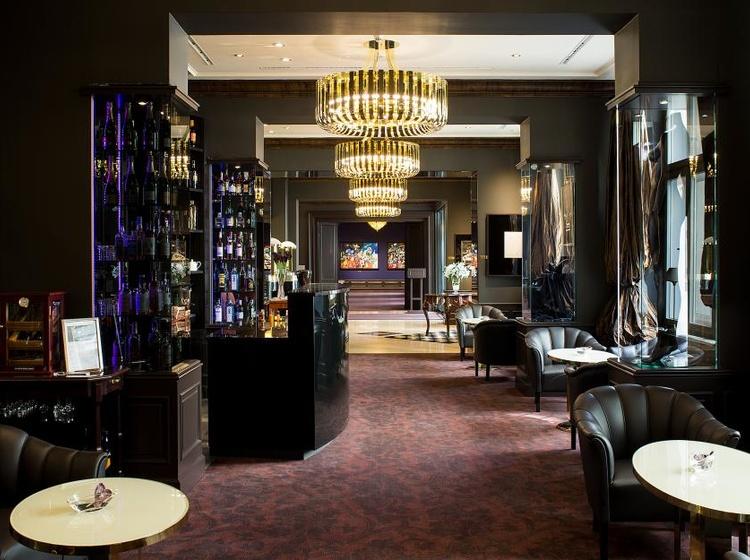 Le Palais Art Hotel Praha Lobby bar 2