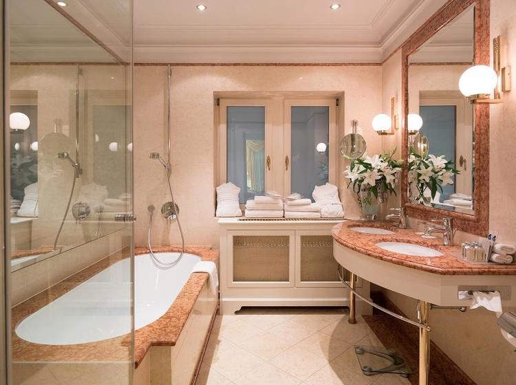 Koupelna v Executive Apartmánu