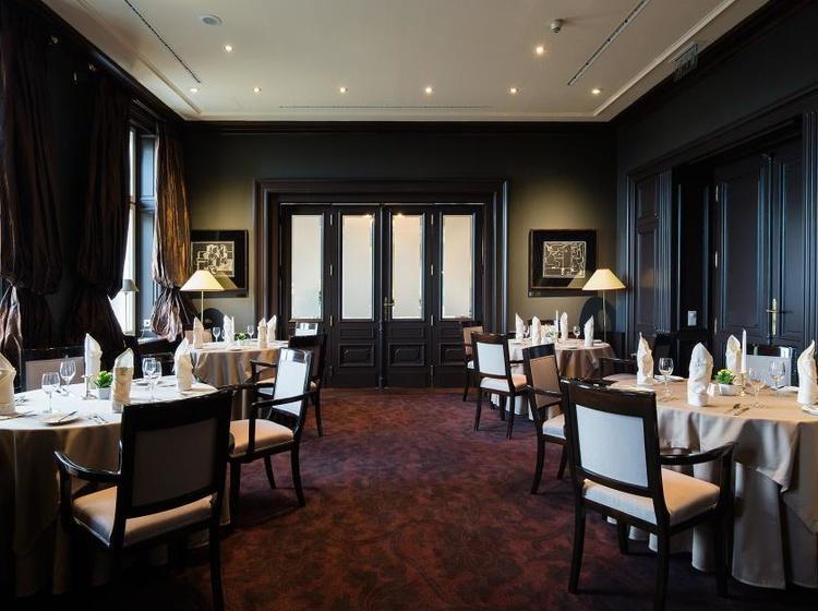 Le Palais Art Hotel Praha The Club - část Artista restaurace 2