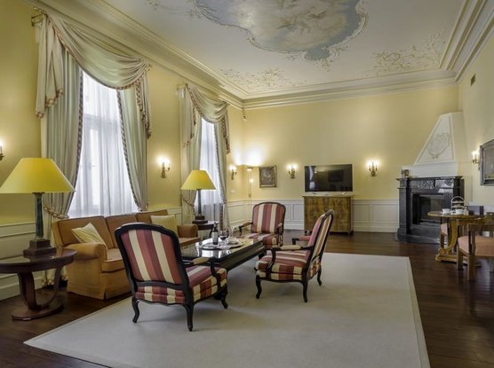 Le Palais Art Hotel Praha Belle Epoque Suite