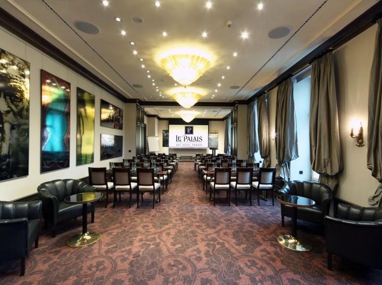 Le Palais Art Hotel Praha Gallery meeting room 2