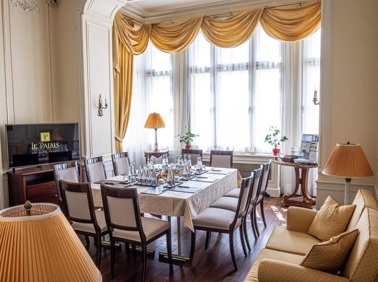 Le Palais Art Hotel Praha Bellevue Suite 2