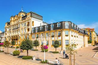Františkovy Lázně-Lázeňský hotel Kijev