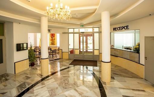 Lázeňský hotel Kijev recepce
