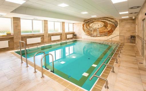 Lázeňský hotel Kijev bazén