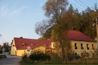 Penzion Pod Hradem-Nové Hrady-pobyt-Podzim v Novohradských horách