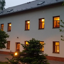 Pohled na dům - Prysk