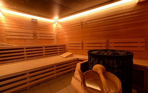 HOTEL BERG finská sauna