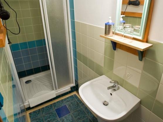 U MALÉHO VÍTKA koupelna