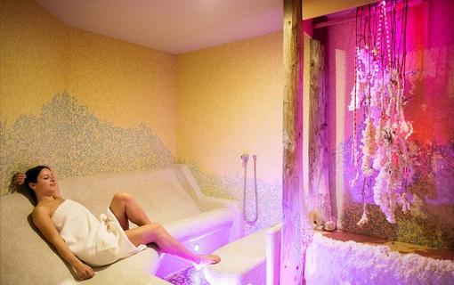 Amande Wine Wellness Hotel Solná sauna