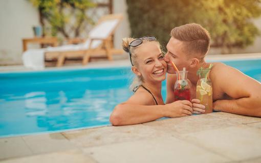 Hotel Akademie Velké Bílovice Venkovní bazén