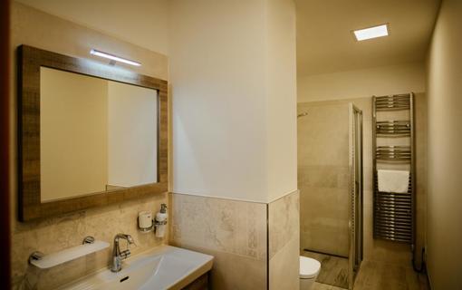 Hotel Akademie Velké Bílovice Family Suite - koupelna