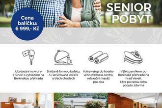Hotel Rakovec-Brno-pobyt-Výhodný seniorský pobyt (+55)