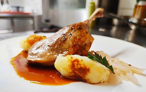 Gourmet Hotel Villa Patriot jídlo
