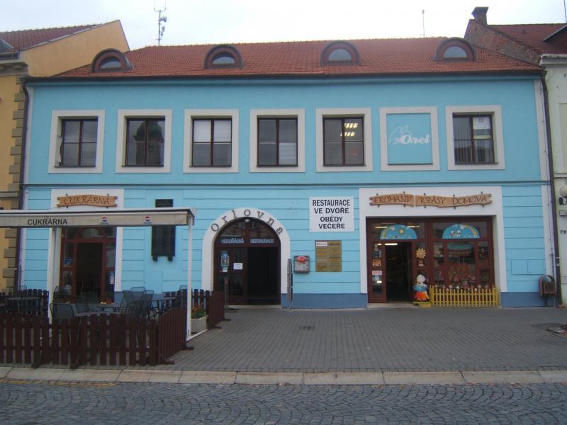 Hlavní vchod z Mariánského náměstí