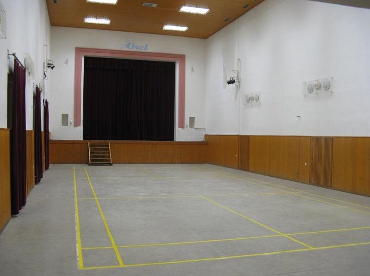 Ubytovna Orlovna Kulturní a sportovní sál 2