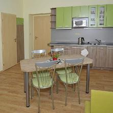 Zelený apartmán - kuchyňka