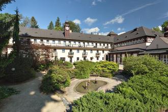 Velké Losiny-Lázeňský hotel Eliška