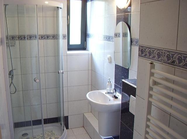 Koupelna pro pokoj č.4 a č.5