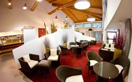 Hotel Bedřichov Wellness centrum recepce