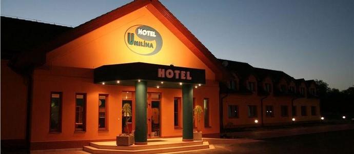 Hotel a motorest u Milína Bohostice
