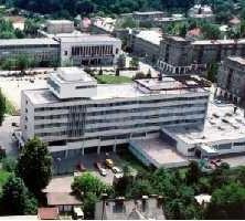 letecký pohľad na Hotel Slovakia