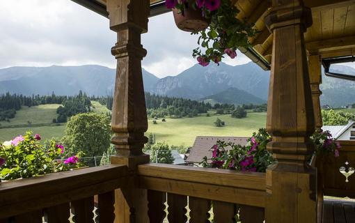 Hotel Bachledka Strachan balkón