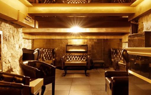 Hotel Zlatý Kľúčik cigarový salónik