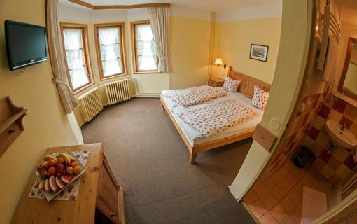 Alpský hotel+ dvoulůžkový pokoj