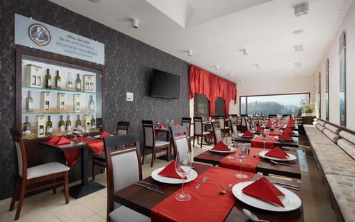 Hotel Slunný dvůr Resort Slunný dvůr, restaurace