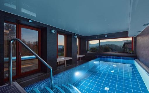 Hotel Slunný dvůr Resort Slunný dvůr, bazén s mořskou vodou