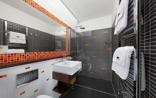 Hotel Slunný dvůr Hotel Slunný dvůr, koupelna