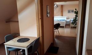 Penzion V Podzámčí Kuchyňka-apartmán