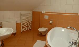 Penzion V Podzámčí Koupelna-apart.
