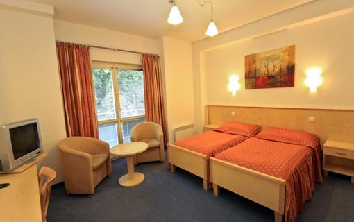 Hotel BELLEVUE dvoulůžkový pokoj