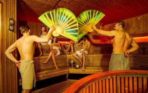 Hotel AquaCity Seasons Saunove show