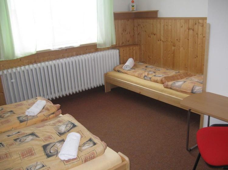 Třílůžkový pokoj Penzion Vysočina